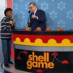 He picks shell #3.