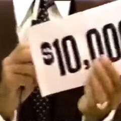 On her only punch, she wins $10,000!!!