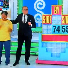 She won a trip to Beijing and $7,455 in cash, for a total of $14,910 in pricing game winnings.