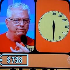...748, 741, 740, 700, 710 (time's up).