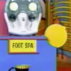 She thinks the foot spa is $37 but is wrong.