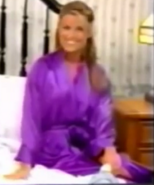 Rachel in Satin Sleepwear-14