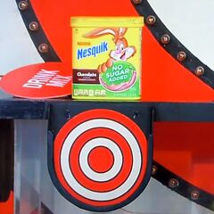 But, good news! The hidden bullseye is behind the Nesquik!
