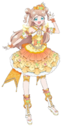 Maria Happiness Gold Jewel Coord Render