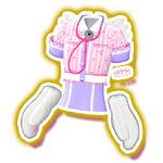 Meow Meow Nurse Pink Coord