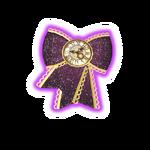 Clock Modern Purple Coord