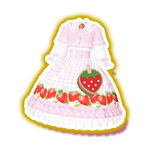 Picnic Gingham Pink Cape Coord