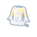 Elegant Party Yellow Coord