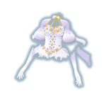 Shiny Star White Coord