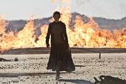 Priestess burning earth