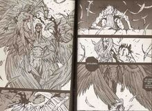 Temozaraela rips off Netraphim's wings.