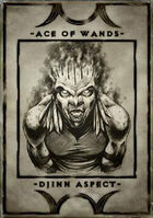 Ace of Wands - Djinn Aspect