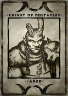 Knight of Pentacles - Jared