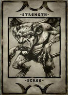 Strength - Scree