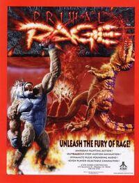 Primal Rage flyer