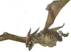 Prehistoric dragon