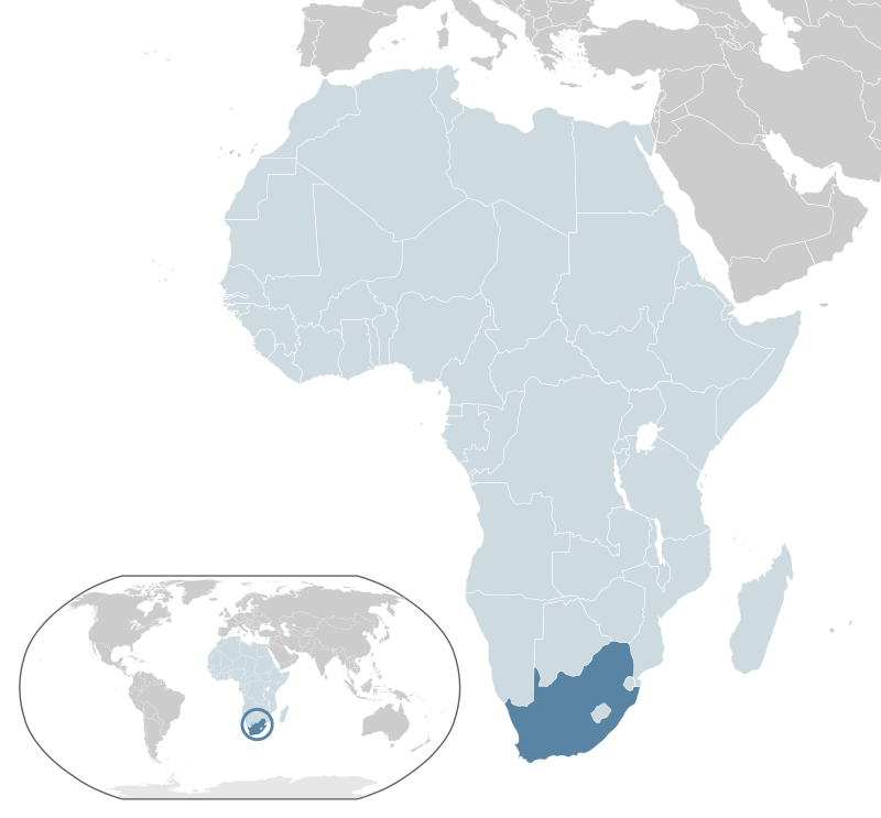 South Africa Map SouthAfrica South Africa Anomaly