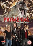 Primeval Series5DVD