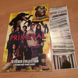 PrimevalStickersCollectionSecond&ThirdSeries