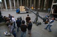 3x1BTS-FilmingSunCageLeavingBritishMuseum