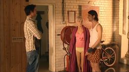 1x4 Connor+AbbyWithStephenInAbbysFlat