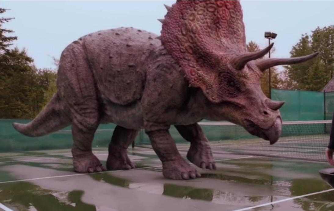 Dinosaurios triceratops reproduccion asexual