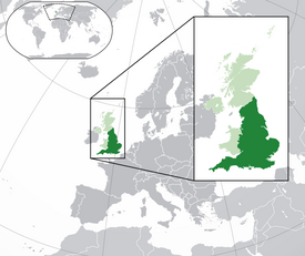 Map-England