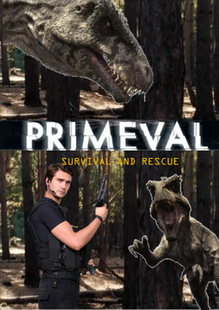 Primeval Survival And Rescue Front Cover