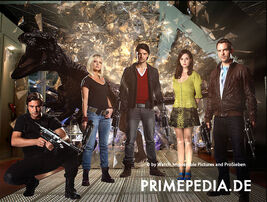 Primeval Series 5 Cast Photo