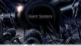 Giant spiders promo