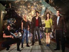 630px-Primeval Series 5 Cast Photo