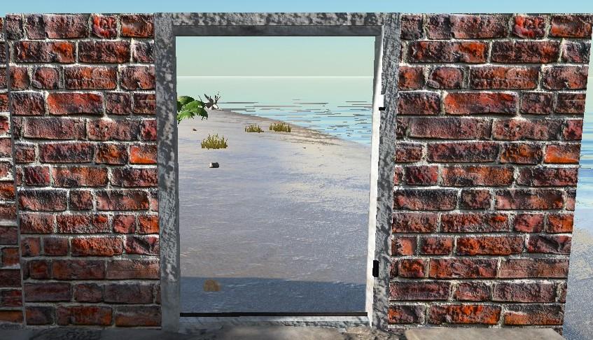 Brick Doorframe