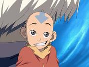 Aang looking innocent