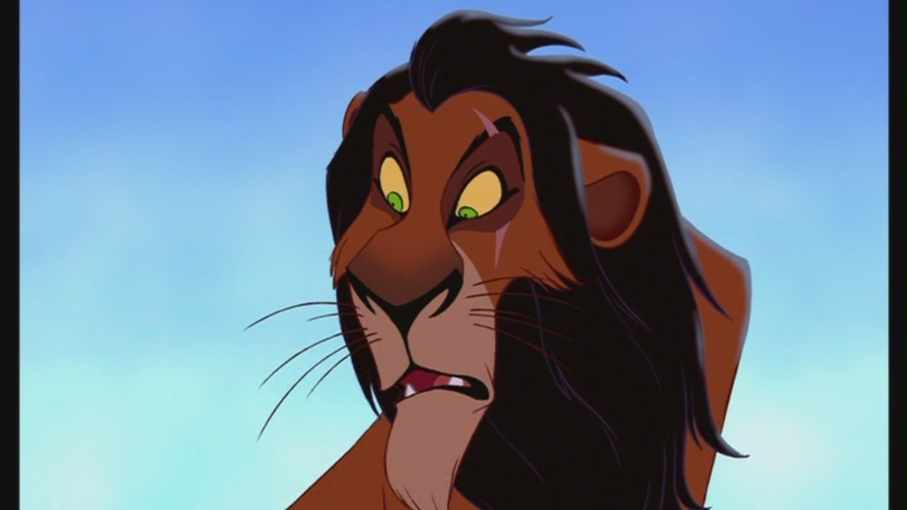 Lion king characters scar - photo#45