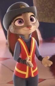 Judy meter maid uniform