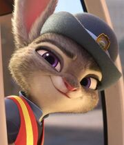 Judy as a meter maid