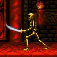 Golden Skeleton SNES