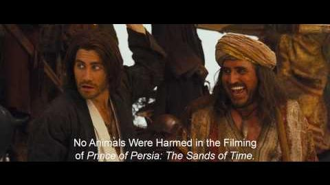 Prince of Persia The Sands of Time - The Mighty Ostrich Clip
