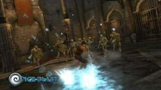 Prince of Persia - The Forgotten Sands - Combat powers Europe
