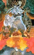 Prince of Persia SNES Artwork by Katsuya Terada