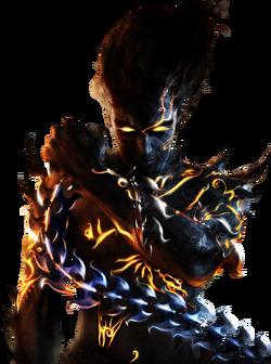 Dark Prince Profile Render