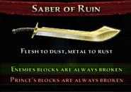 Saber of Ruin