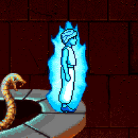 Shadow Man Flame