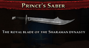 Prince's Saber