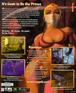 Prince of Persia 3D Back Cover