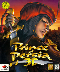 Prince of Persia 3D Coverart