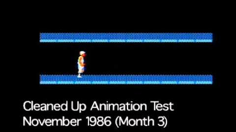 Prince of Persia Cleaned-Up Animation Test 1986