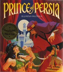Prince of Persia (Original) Cover