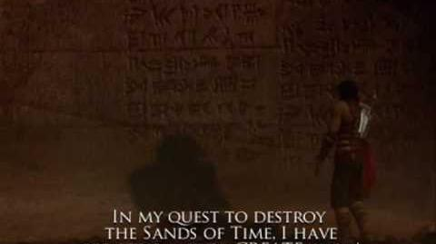 Prince of Persia Warrior Within Cutscene- I am the Architect of My Own Destruction