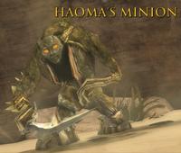 Haoma's Minion